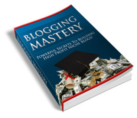 Product picture Blogging Mastery Ebook With PLR